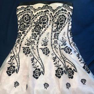 Strapless Morgan & Co. Dress